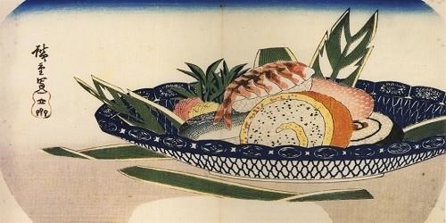 История происхождение суши. Первое упоминание о блюде.